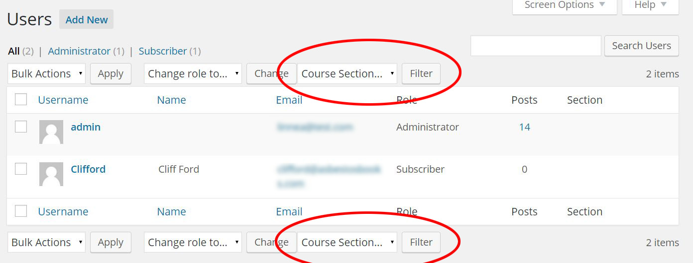 Using the restrict_manage_users Action Hook in WordPress 4.4