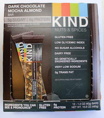 Dark Chocolate Mocha Almond Bar – Kind Nuts & Spices Bar
