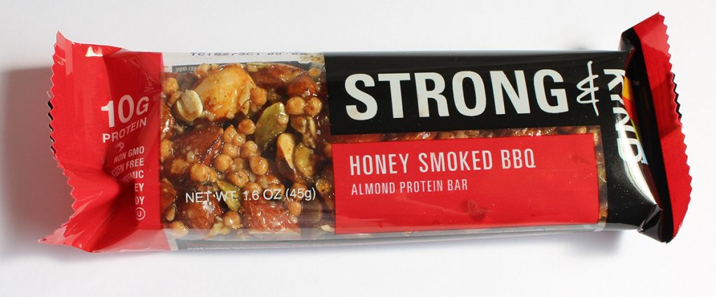 Strong & Kind Honey Smoked BBQ Almond Protein Bar