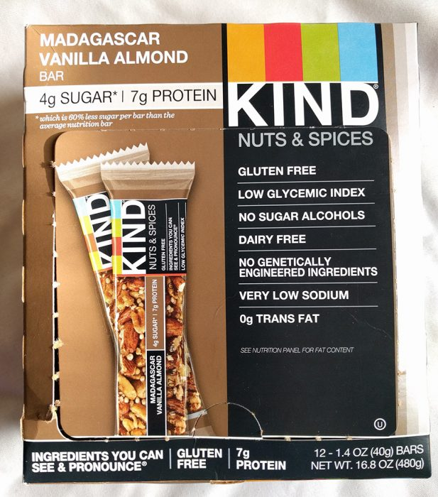 Madagascar Vanilla Almond Kind Bar
