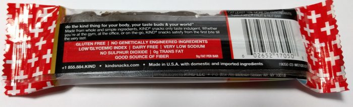 Dark Chocolate Cherry Cashew + Antioxidants Kind Bar