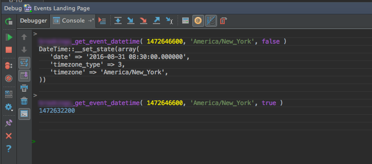 Debugging WordPress with PhpStorm's Console Window and xDebug