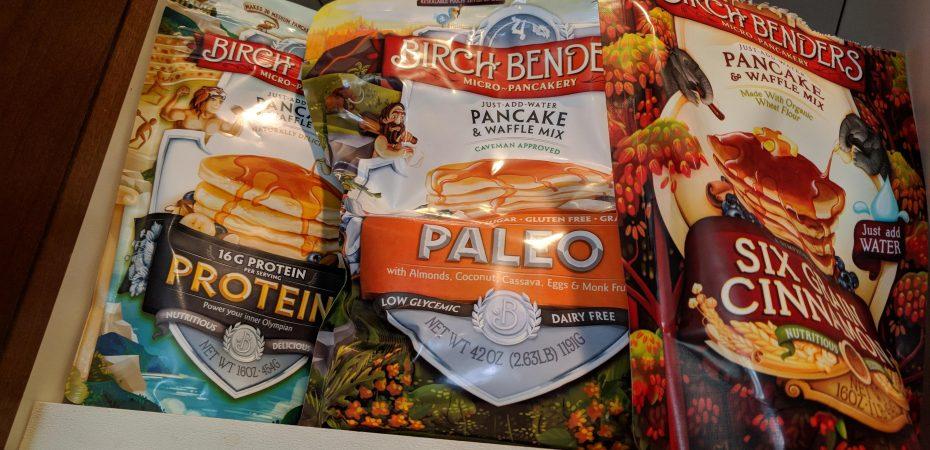 Birch Benders Waffle Mixes: Paleo, Protein, and Six Grain Cinnamon